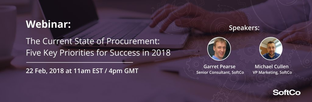 The Current State of Procurement and Priorities for 2018