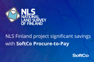 The National Land Survey of Finland project significant savings with SoftCo Procure-to-Pay