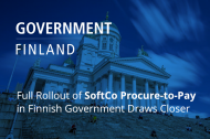 Full Rollout of SoftCo Procure-to-Pay in Finnish Government Draws Closer